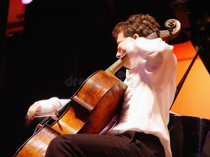Download Am Konzert stockfoto. Bild von instrument, zeichenketten - 34610
