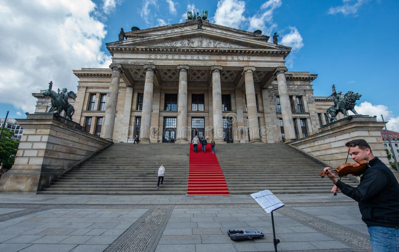 KONZERT HAUS BERLÍN imagenes de archivo
