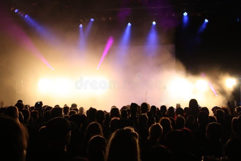 Download Konzert-Masse stockfoto. Bild von punk, spaß, festival - 9080226