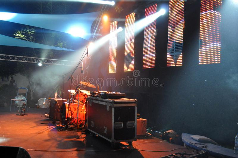Konzert - Musikfestival - Bild stockbild