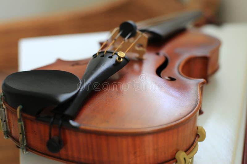 Konzert-Violine stockfoto