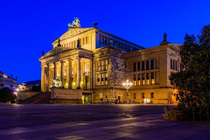Konzerthaus柏林,德国 库存图片