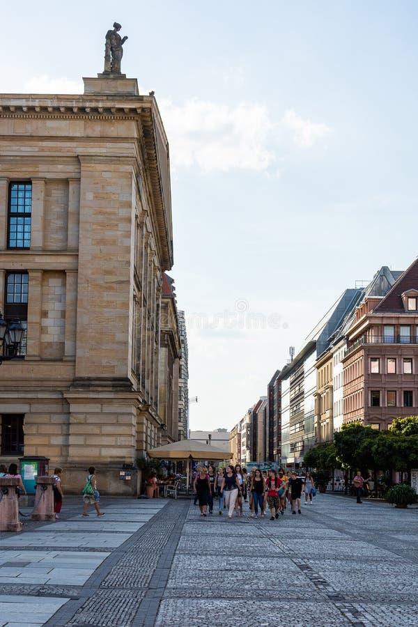 Konzerthaus Берлин в центральном районе Mitte стоковые изображения rf