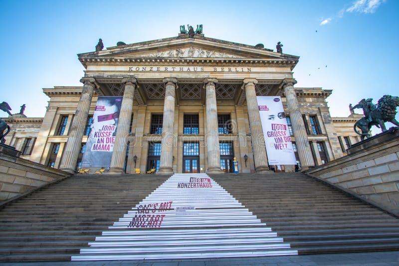 Konzerthaus Berlin, Tyskland royaltyfria bilder