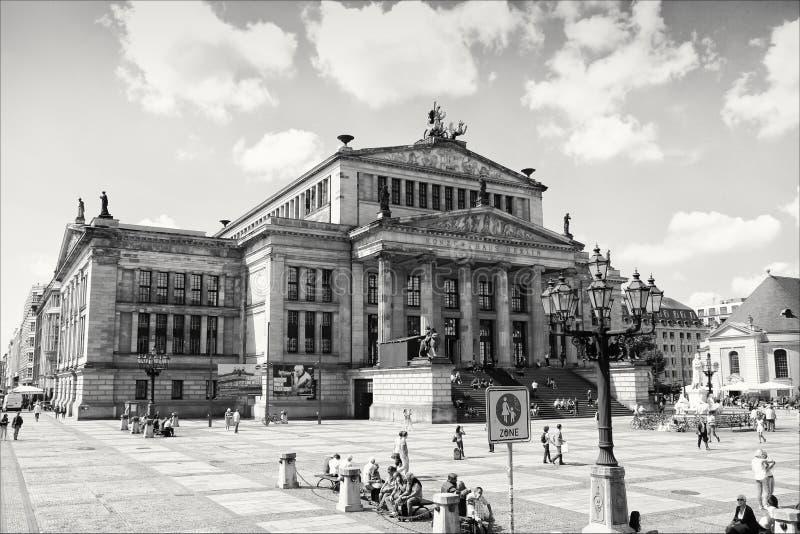 Konzerthausen royaltyfri foto