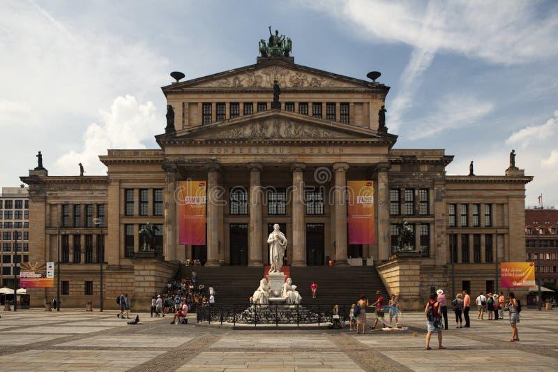 Konzerthausen Berlin royaltyfria bilder