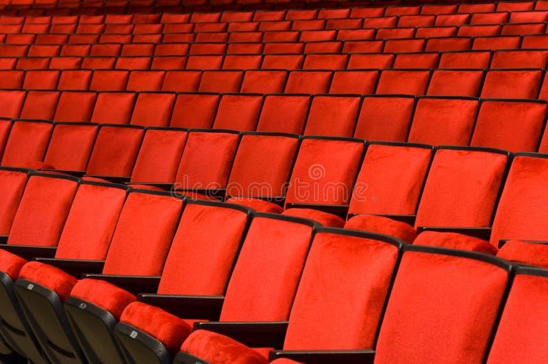 Konzertsaal-Lagerung lizenzfreies stockbild
