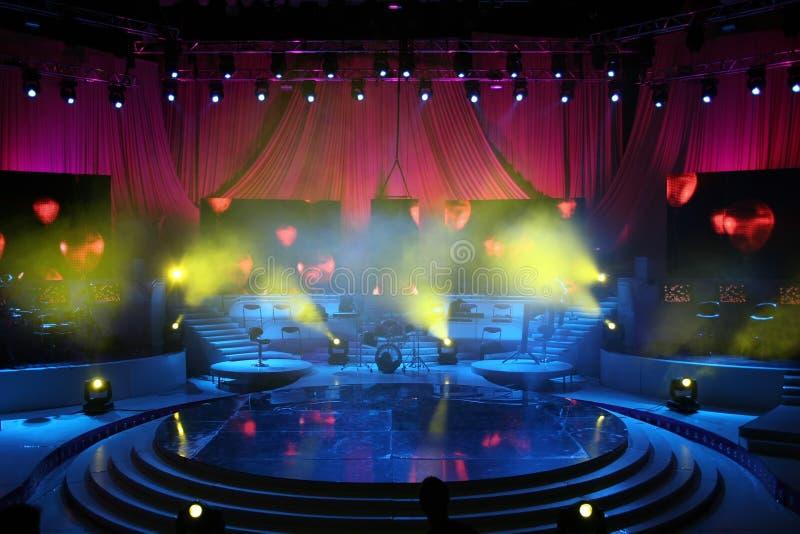 Konzertstufe stockbild