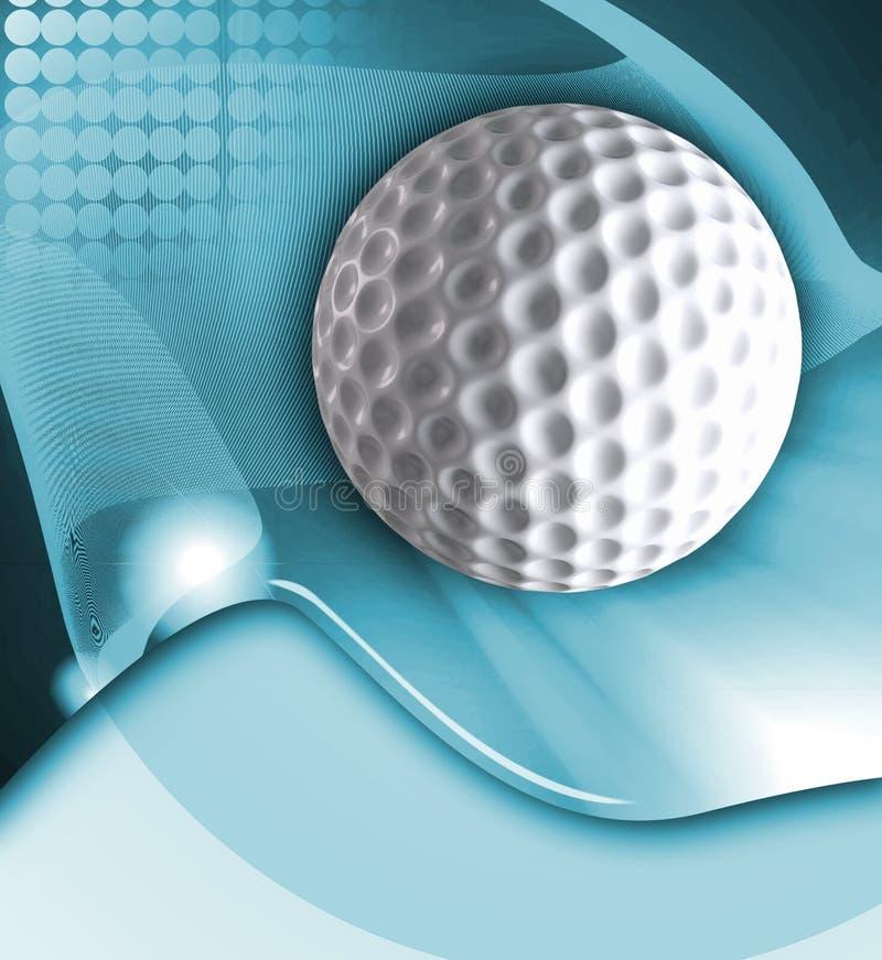 Konzipierter Golfhintergrund lizenzfreie abbildung