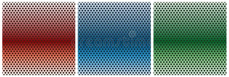 kooi grill netwerk Metaalmesh texture vector background netwerk vector illustratie