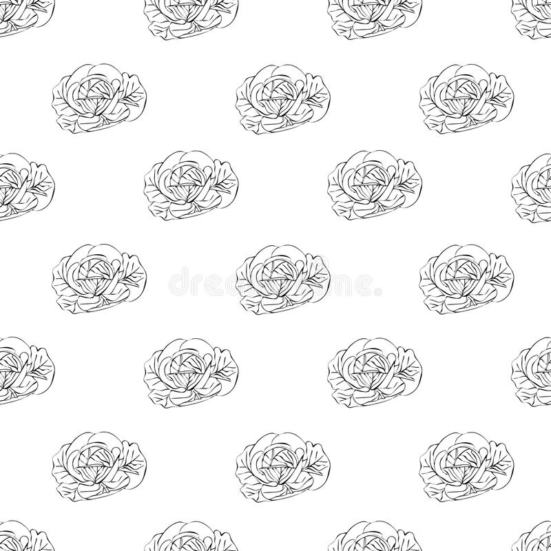 Kool naadloos patroon vector illustratie
