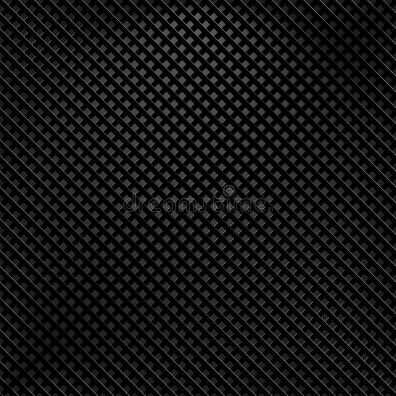 Koolstoftextuur stock illustratie