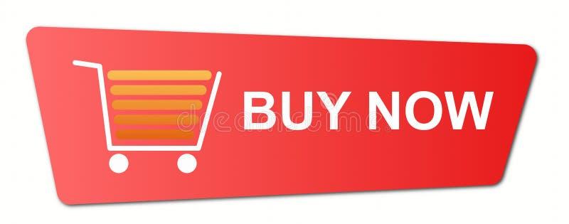 Koop nu Blauw stock illustratie