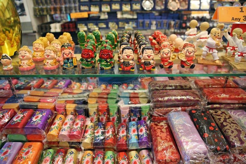 Koopwaar voor verkoop in Singapore stock foto