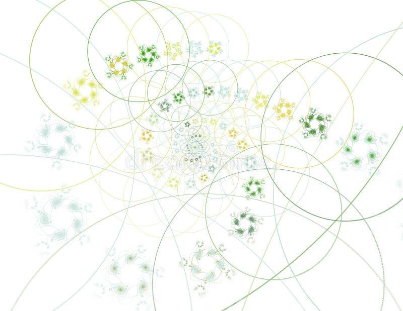 Koordtheorie Fysische proc?d?s en quantumverwarring royalty-vrije illustratie