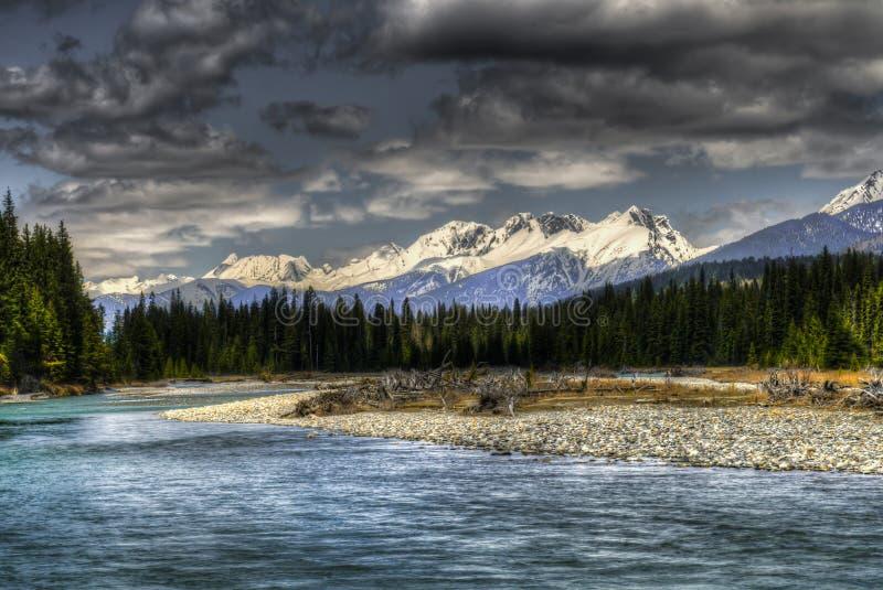 kootenay национальный парк стоковая фотография