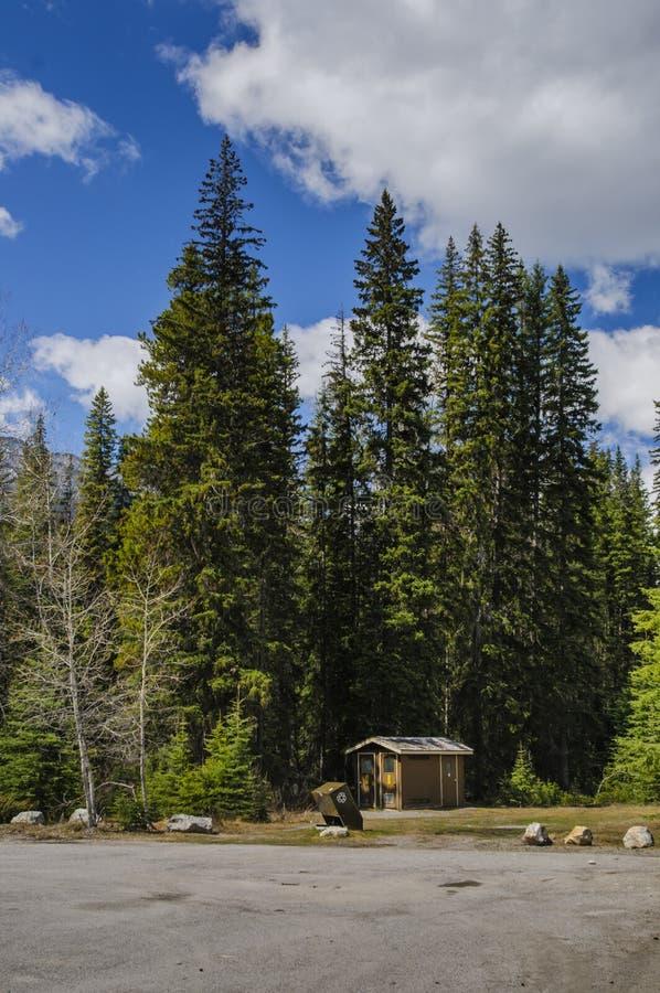 kootenay национальный парк стоковое фото rf