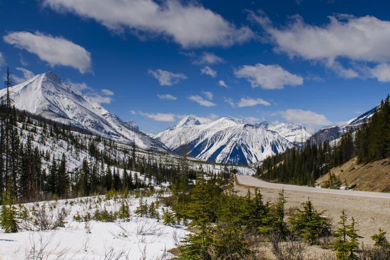 Kootenay Nationalpark lizenzfreie stockbilder