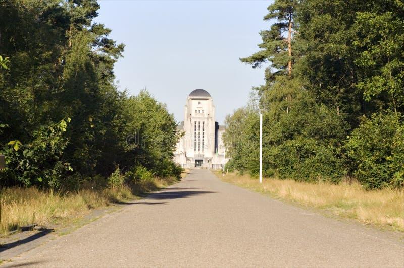 Kootwijk de rádio imagem de stock