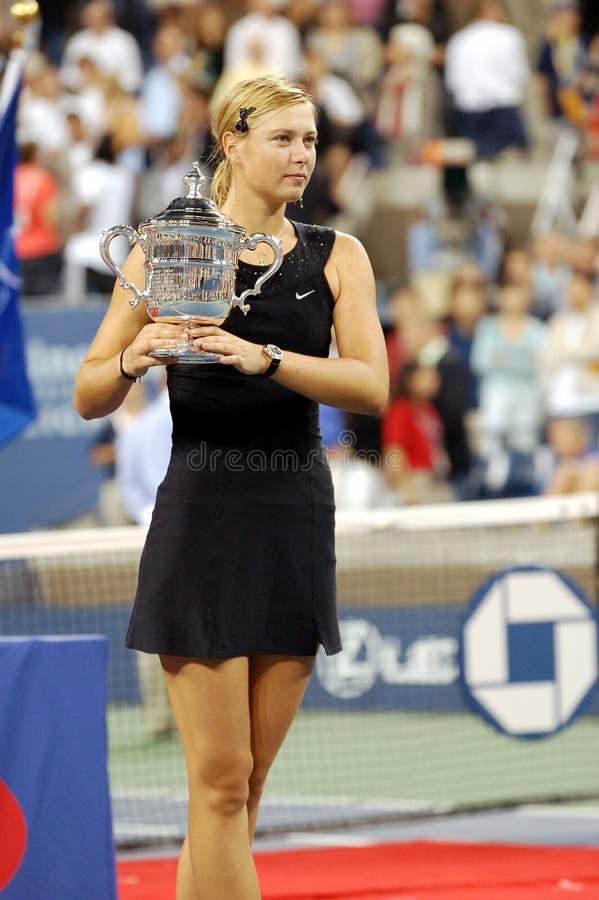 Kop 133 van Maria USOPEN van Sharapova royalty-vrije stock afbeelding