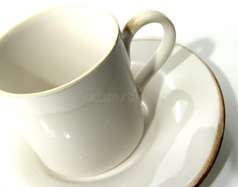 Kop 2 van de koffie royalty-vrije stock foto
