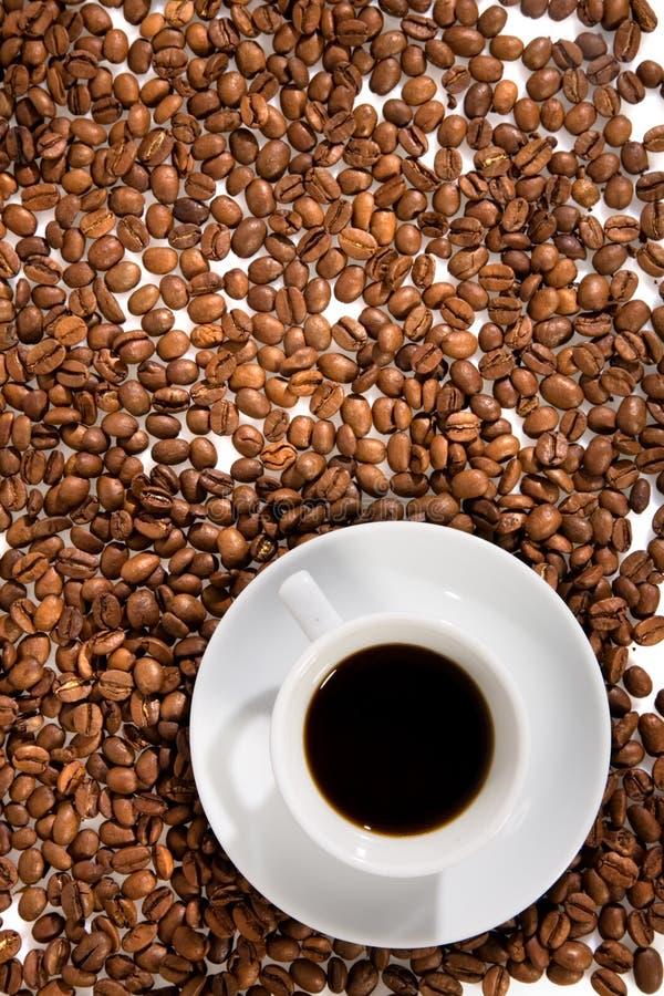 Kop met koffie royalty-vrije stock fotografie