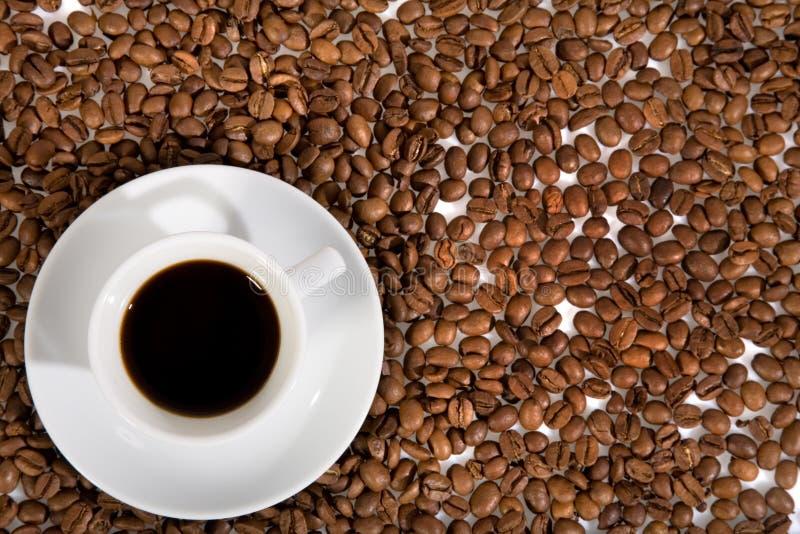 Kop met koffie stock fotografie