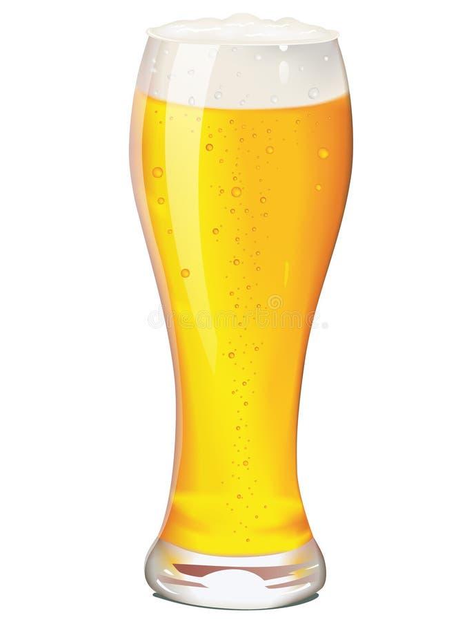 Kop van bier vector illustratie