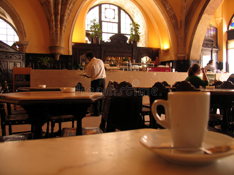 Kop van coffe royalty-vrije stock afbeeldingen