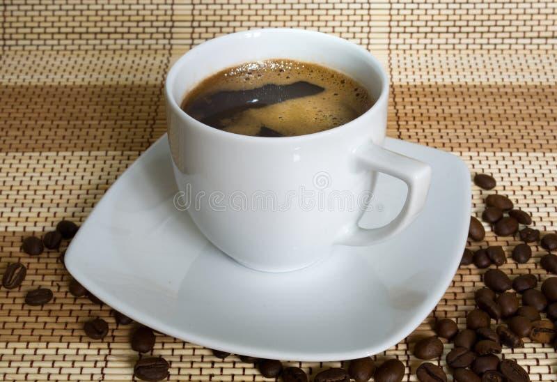 Kop van coffe stock fotografie