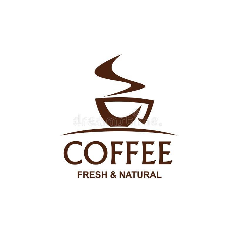 Kop van coffe vectorteken royalty-vrije illustratie