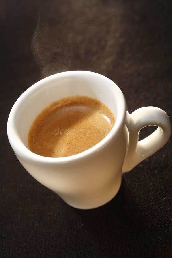 Kop van espresso stock foto's