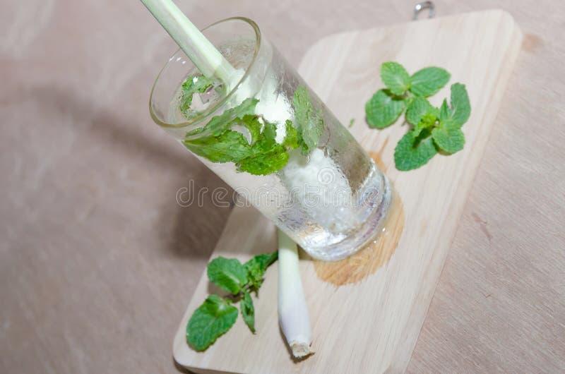 Kop van groene thee stock afbeelding