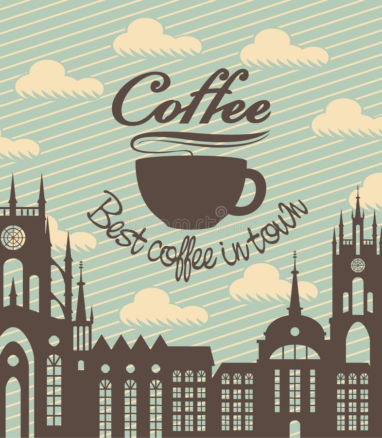 Kop van koffie vector illustratie