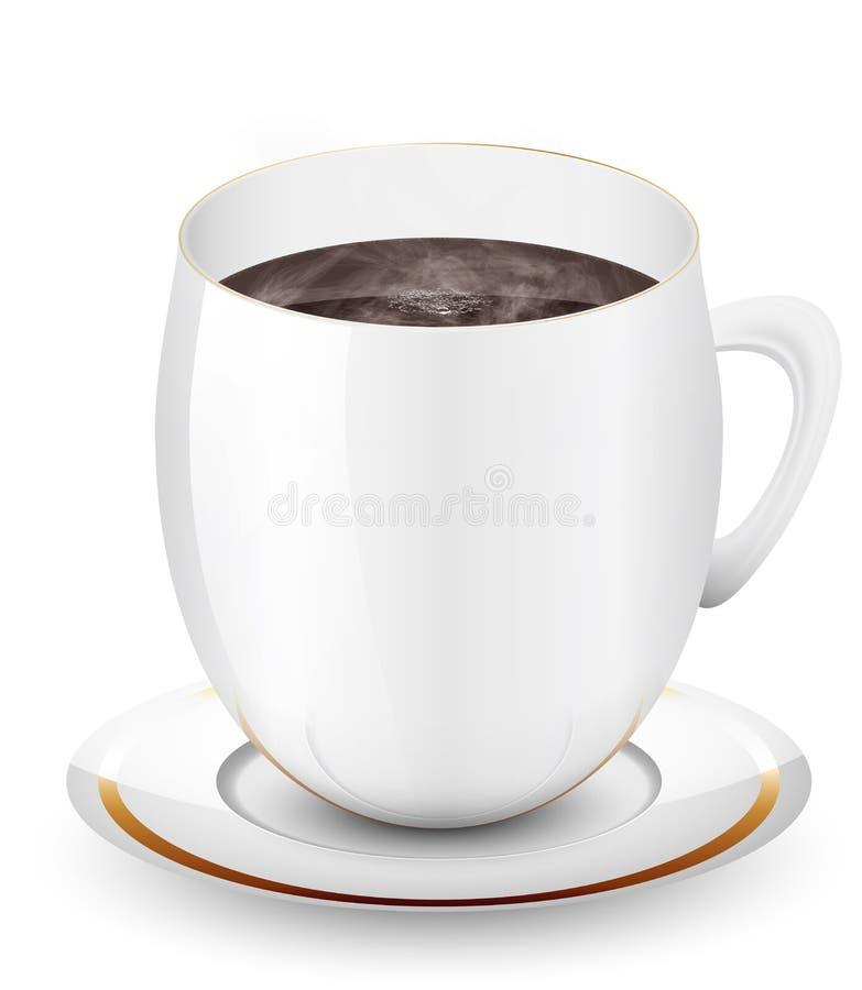 Download Kop van koffie vector illustratie. Illustratie bestaande uit ontbijt - 29507853