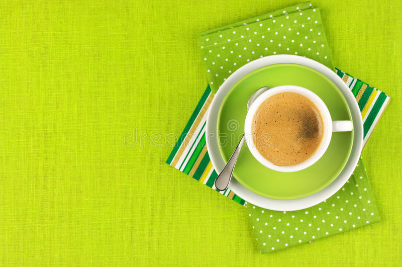 Kop van koffie stock fotografie