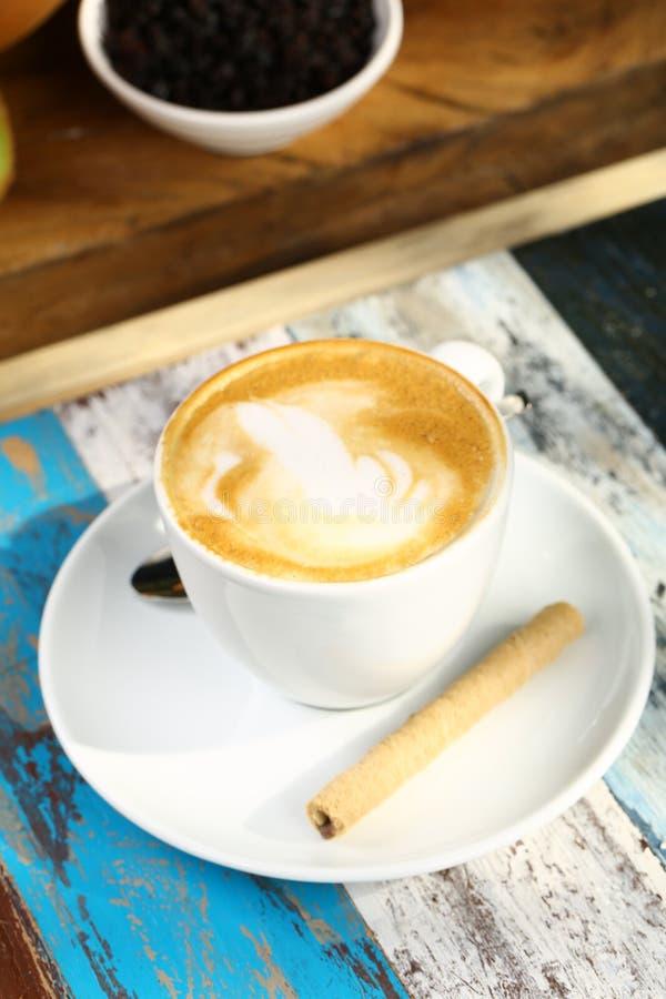 Kop van latte royalty-vrije stock foto's