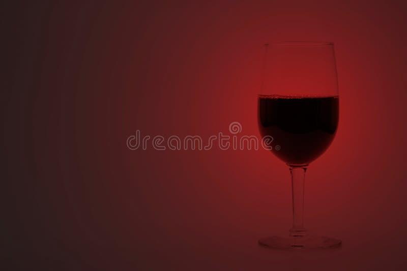 Kop van Rode wijn stock foto's