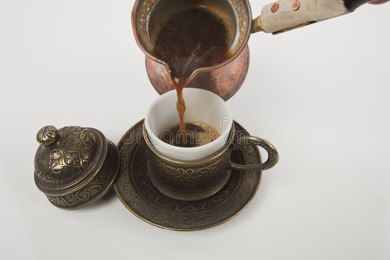 Kop van Turkse koffie royalty-vrije stock fotografie