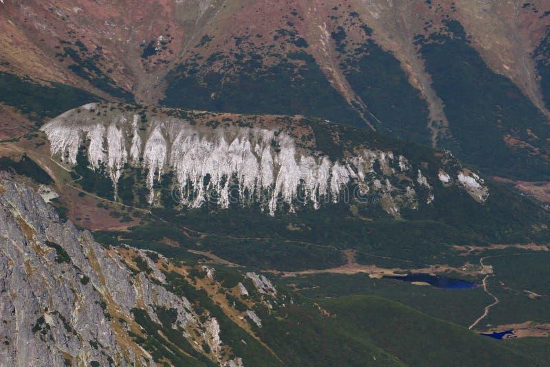 Kopa Belianska, ένας χλοώδης στρογγυλευμένος λόφος σε υψηλό Tatras, Σλοβακία στοκ φωτογραφία