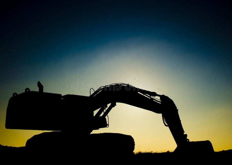 kopacz słońca zdjęcie stock