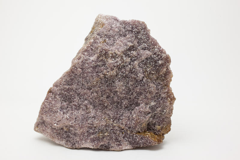 Kopalina: Lepidolite obraz stock