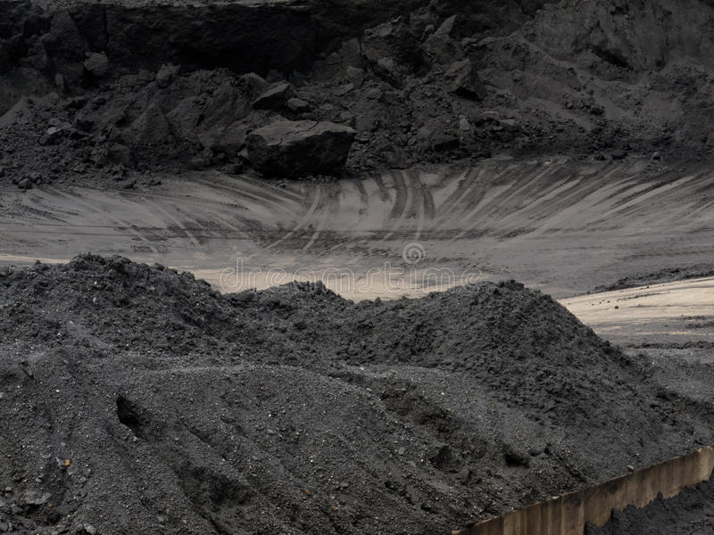 kopalnia węgla miejsca magazynu pociągu przeniesienie obrazy royalty free