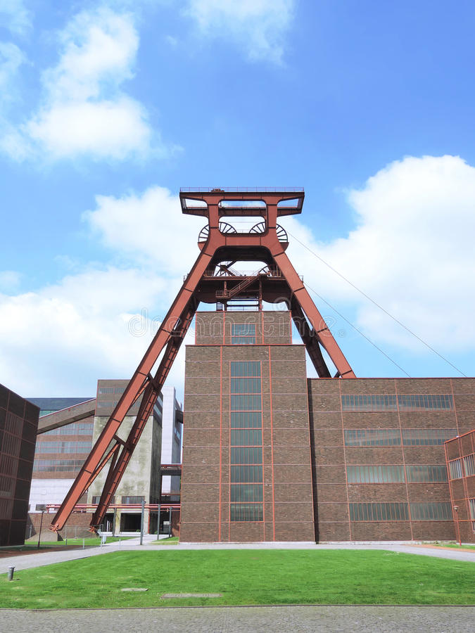Kopalnia węgla Zollverein fotografia royalty free