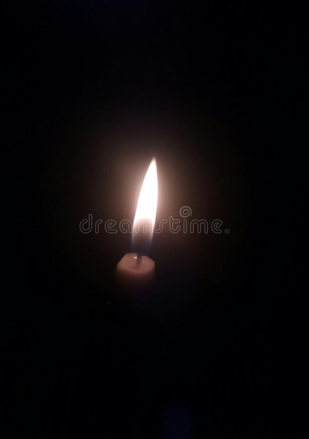 kopalniana świeczka zdjęcie stock