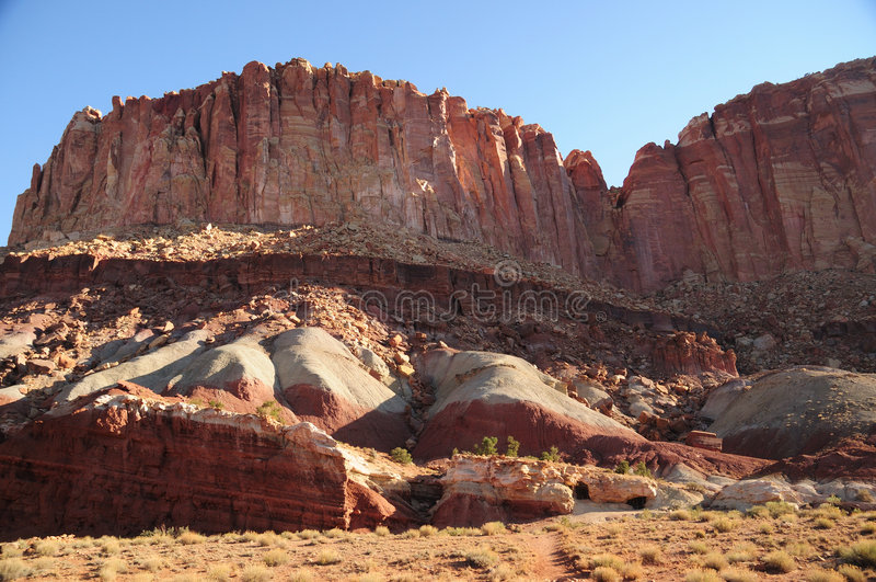 kopalniany stary uranowy Utah obraz royalty free