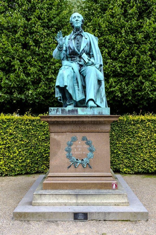 Kopenhaga centrum miasta - królewski królewiątko Dani, Zealand region - fotografia royalty free