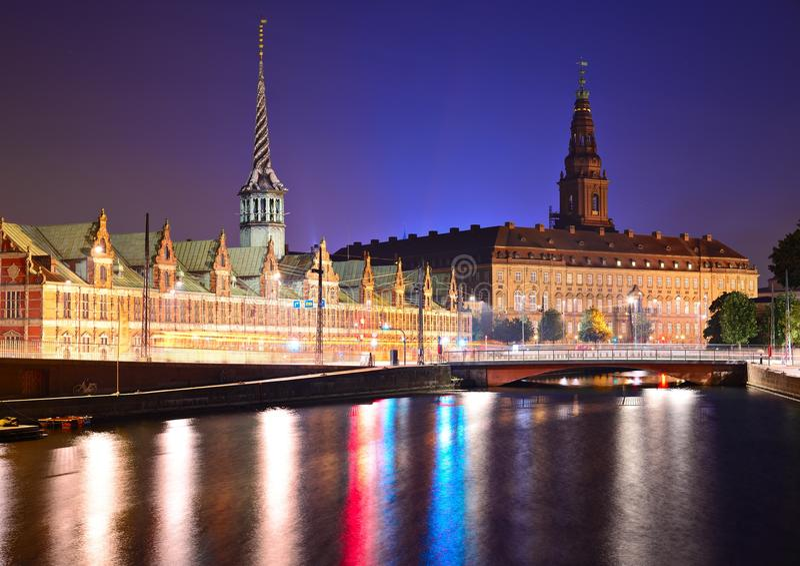 Kopenhaga Dani zdjęcia stock