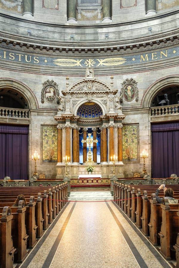 Kopenhaga - rokokowy Ewangelicki Luthe Dani, Zealand region - obraz stock
