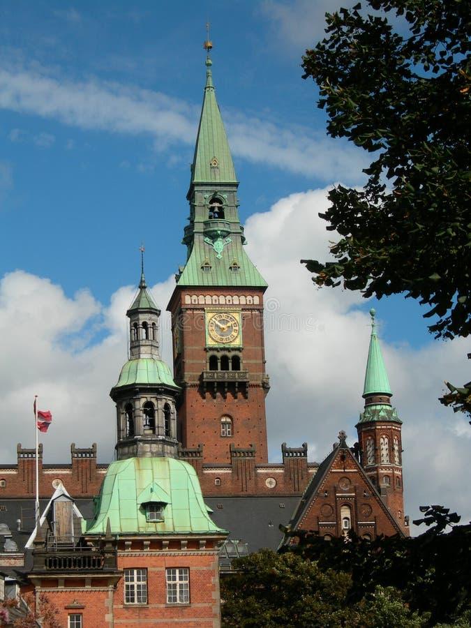 Kopenhagen. stock fotografie